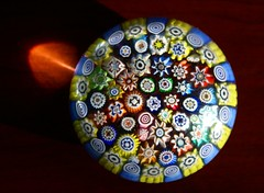 Paperweight (CaptPiper) Tags: color glass treasure paperweight millifiori