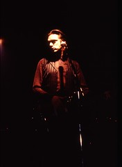 Nick Cave live in Zurich,  June 3. 1994 - 02 (dreifachzucker) Tags: analog wow concert live zurich analogue 1994 zrich blixabargeld badseeds rotefabrik nickcaveandthebadseeds nikkormatel