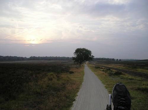 sunset during a days tour