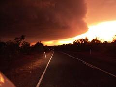 drohendes Gewittter in Australien (Jochen.Ziegon) Tags: cloud scary wolke australia australien