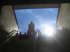 """""""Tief im Westen"""" (die dritte) (arnd Dewald) Tags: streetphoto stadion bochum ruhrgebiet ixus40 fusball vfl ruhrpott ruhrstadion tribne arndalarm"""