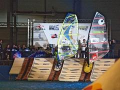 Indoor Windsurfing 10 (wiliam) Tags: indoor olympus surfing windsurfing e1 50200mm gent windsurf binnen surfen flandersexpo windsurfen zd