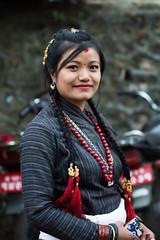 Newari girl (narayangm) Tags: newar people culture