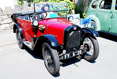 AUSTIN 7  CHUMMY. (tommypatto : ~ IMAGINE.) Tags: cars oldcars oldvehicles oldtransport austin red
