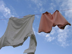 (MaureenduLong) Tags: orange white tag3 taggedout tag2 tag1 laundry maureen dickens deventer flickrettes
