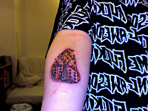 Lucky Dice my new tattoo