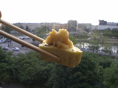Tamago sashimi over Paris (Christian) Tags: sushi japanesecuisine