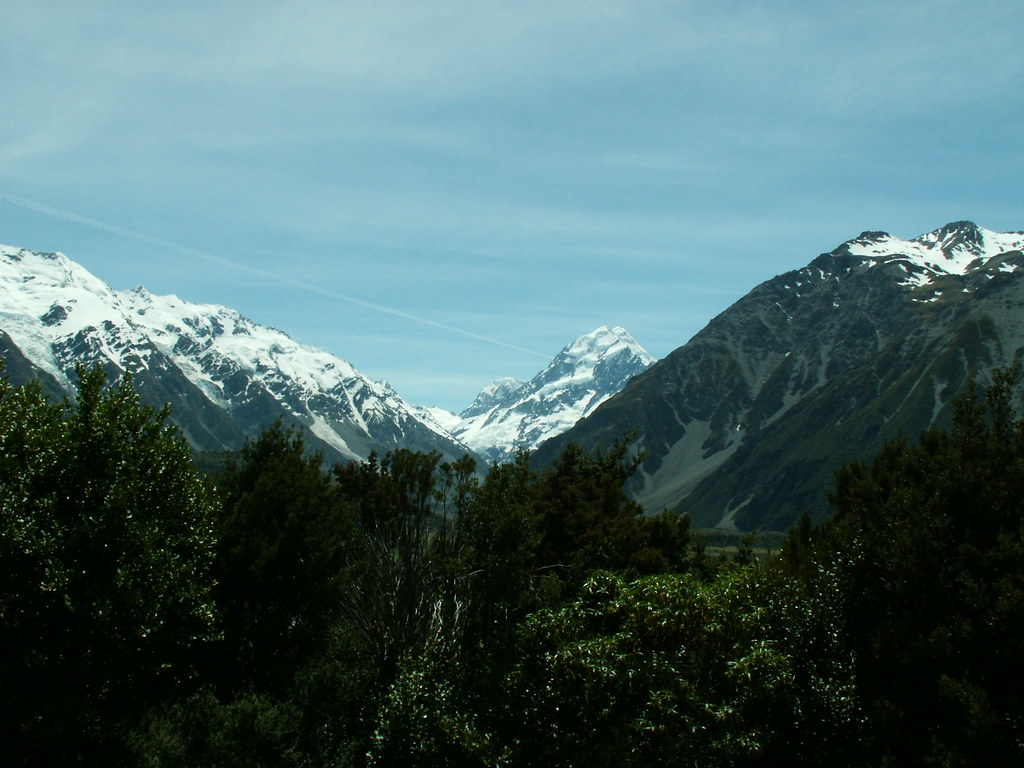 Mt Cook from Hermitage