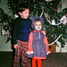 David and Juli Ward, Christmas 1973