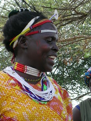 Kenyan woman (Kuria tribe)