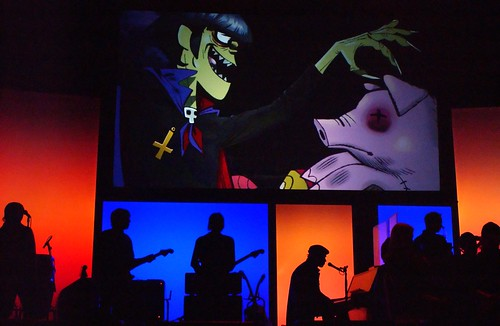gorillaz demon days. Gorillaz - Demon Days Live
