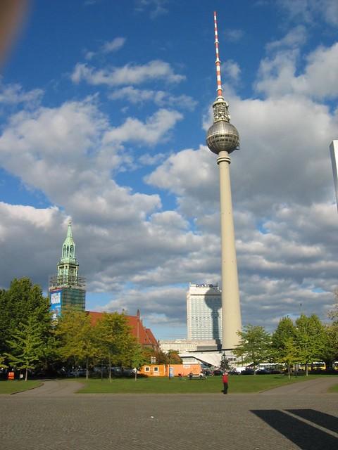 B for Berliner Fernsehturm