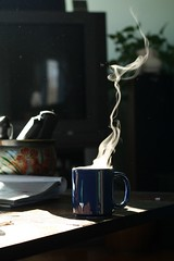 Steaming Coffee (captainmcdan) Tags: coffee steam steaming hotcoffee canonef50mmf18ii steamingcoffee