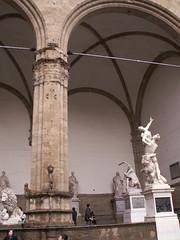 12 2005 Florence 131 (lyricsart) Tags: statues uffizi florence