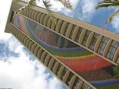 Rainbow Tower (S O N I A) Tags: usa hawaii waikiki rainbowtower