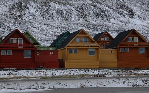 Longyearbyen - Svalbard -  Spitsbergen.