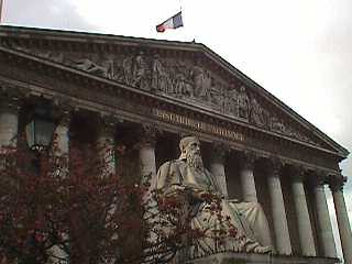 The Assemblée nationale: picture The Assemblée nationale by Wojar