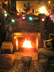 Yule Log (Duraflames count!) (OldhaMedia) Tags: goodwill damneddecent surprise watercolor