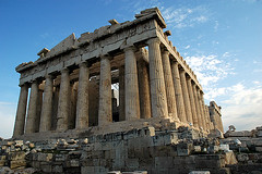 The Parthenon (caribb) Tags: voyage old travel vacation building buildings geotagged greek temple amazing ancient ruins europa europe athens tourist historic parthenon explore greece grecia atenas civilization acropolis majestic griechenland grce touring athene athen  griekenland historicsite athensgreece athnes touristsite theacropolis flickrexplore atene   theparthenon  lagrce lagrecia geo:tool=gmif geo:lon=23726048 geo:lat=37971217