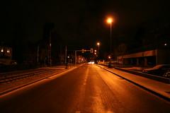 Bottmingerstrasse ca. 4 a.m. (Paul Martin) Tags: road night suburbia townscape binningen photodotocontest1