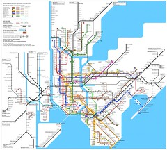 SubwayMap (interfaced) Tags: informationdesign infographics map