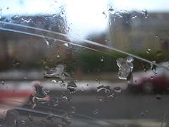 macro ice on window (Byrnesyliam) Tags: close focus scratch ice stcombs
