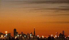 Skyline (Thomas Hawk) Tags: sanfrancisco california city sunset usa building skyline architecture night lights oakland twilight downtown unitedstates unitedstatesofamerica bart william financialdistrict eastbay transamerica transamericapyramid westoakland transamericabuilding pereira bayarearapidtransit williampereira buildingskylinedowntownbay bridgebartwest oaklandwest williamlpereira pereria