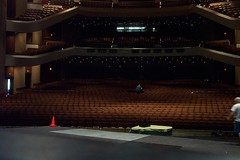 concert hall from stage