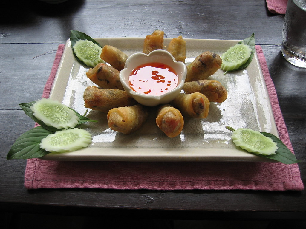 Spring rolls, BaiPai Cooking School