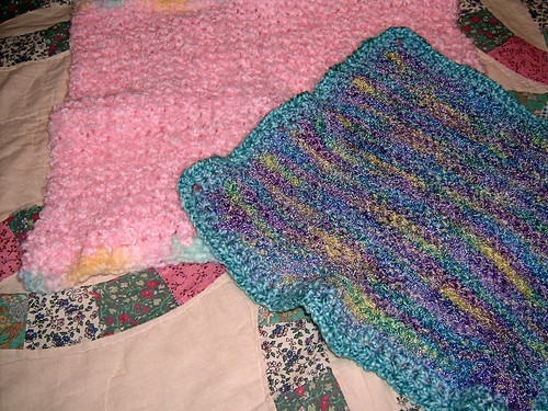 Small Knit Baby Blankies