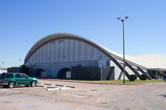 Houston's only saddle shaped roof? (El Mistico) Tags: houston googie hyperbolic paraboloid