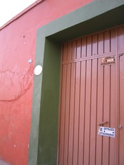 Door of Silvia's House