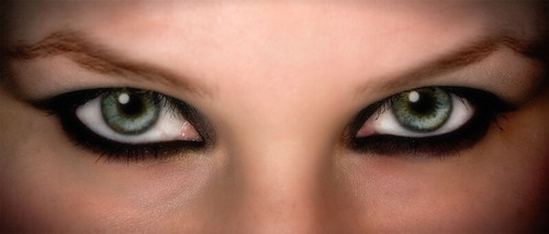 Iris eyeshadows eyelashes makeup pictures gallery