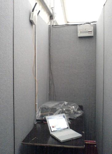 Marquee wiring closet