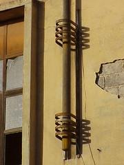 Flagpole, Alfa Romeo Building, Asmara