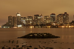 Boston Skyline @ 4:45am (StarrGazr) Tags: city bridge light building topf25 boston tag3 taggedout skyline night buildings wow geotagged ma gold interestingness interesting topv555 tag2 raw cityscape tag1 topc50 hill interestingness1 scout explore bunker shore blogged mass zakim massachussetts topi yourfav earthnight starrgazrsown utatafeature tracyleeutatafeature geo:lat=42369729 geo:lon=71044282 top2006