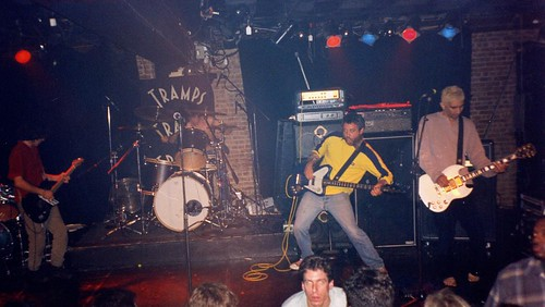 Mike Watt @ Tramps, NYC (Featuring Eddie Vedder & Pat Smear)