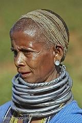 Bonda #4 (foto_morgana) Tags: portrait people woman india geotagged million tribes orissa indigenous bonda missing unknownfaces fifty