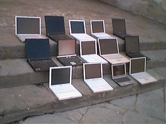 The Gargonza Experiment...ooOO('do laptops look like their owners?')