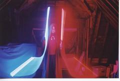 Blue/red sabers (Sheeky) Tags: starwars jedi lightpainting timelapse lightsaber fight sabers saber topphotoblog