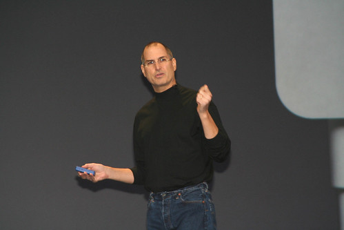Steve Jobs by J.D. Lasica on Flickr
