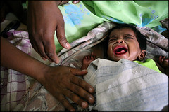 Baby don't cry- Chennai, India (Maciej Dakowicz) Tags: poverty india children aids hiv madras social orphanage orphans chennai issues tamil nadu