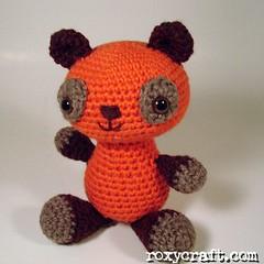 Pumpkin Bear (Roxycraft) Tags: amigurumi softies plush mos crochet handmade