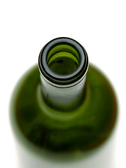 Green bottle (Rune T) Tags: white macro green topf25 glass bottle focus dof wine