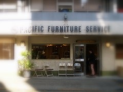 furniture shop.