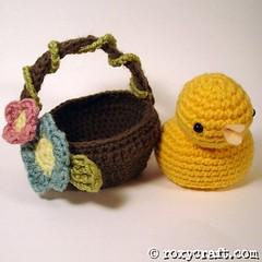 chickinabasket2 (Roxycraft) Tags: amigurumi softies plush mos crochet handmade