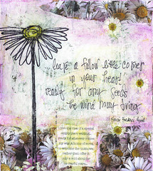 daisy...mixed media art (Kelly Angard) Tags: collage kellya mixedmediaart kellyangard thecraftygirl kellyafineartphotography