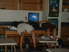 Passed out (uhhey) Tags: school jeff sleep class khang fairporthighschool