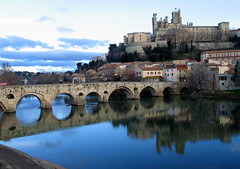 Beziers (Marlis1) Tags: winter france wow river cathedral beziers 100vistas abigfave vipveryimportantphotos
