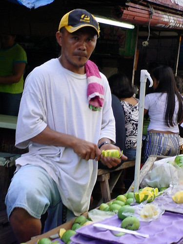 cebu man mango green vendor street Pinoy Filipino Pilipino Buhay  people pictures photos life Philippinen  菲律宾  菲律賓  필리핀(공화국) Philippines